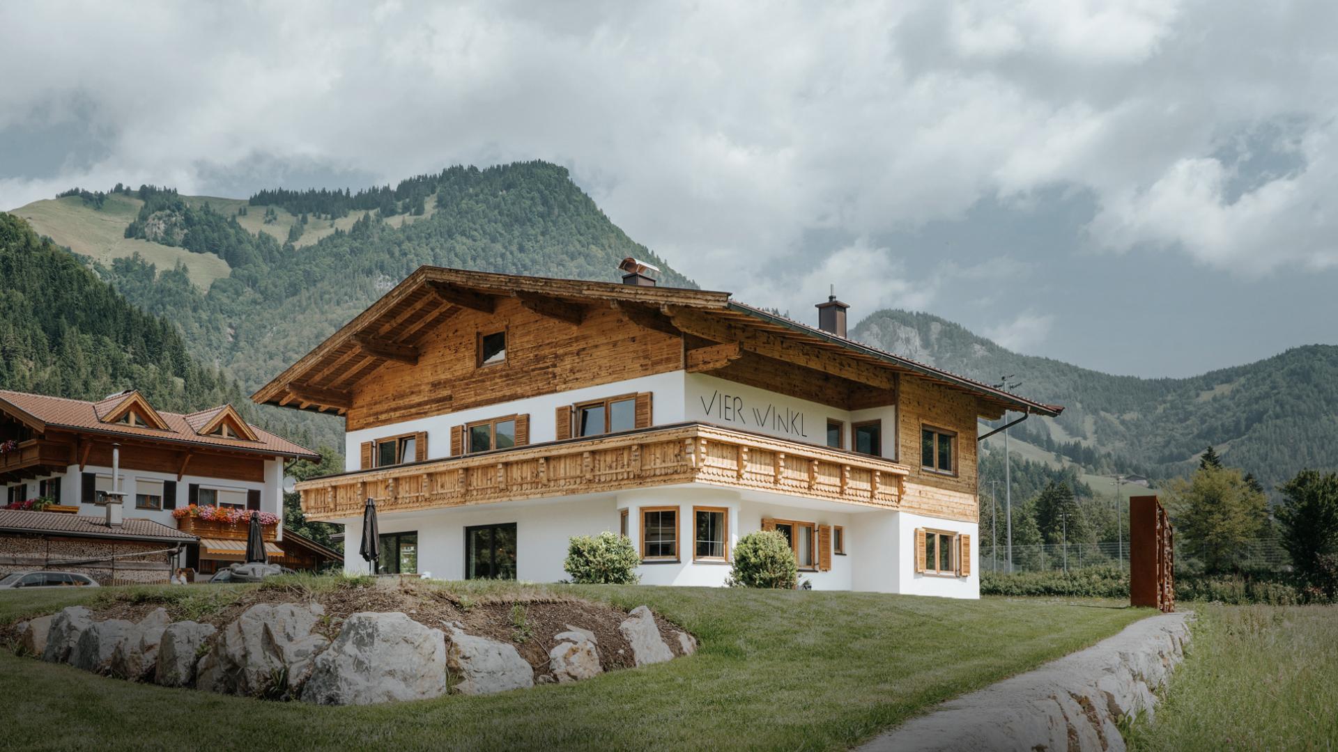 Vier Winkl – Ferienhaus Walchsee